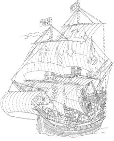 9 coloring pages of Sailing Ships on Kids-n-Fun.co.uk. On Kids-n-Fun you will…