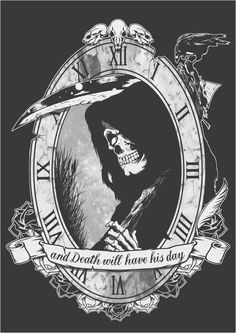 Trendy Ideas For Dark Art Tattoo Ideas Grim Reaper<br> Tatuaje Grim Reaper, Grim Reaper Art, Grim Reaper Tattoo, Don't Fear The Reaper, Grim Reaper Quotes, Bild Tattoos, Neue Tattoos, Body Art Tattoos, Dark Art Drawings