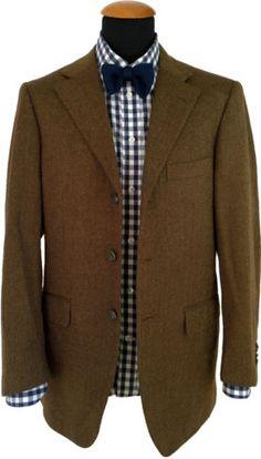 Raffaele CARUSO Sartoria Parma Tweed Cashmere Suit Hand Made ZEGNA BLAZER size 38R 48 European