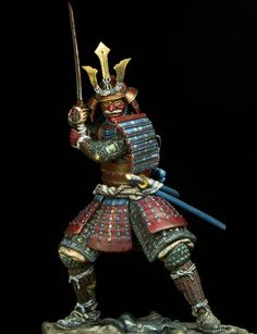 "Samurai were noble warriors fighting evil and defending the country and lived by their moral code, the ""bushido"" Kabuto Samurai, Ronin Samurai, Samurai Weapons, Samurai Warrior, Samurai Tattoo, Native American Face Paint, Samurai Artwork, Cinema Tv, Japanese Warrior"