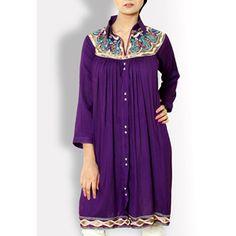 Buy Summer Stylish Floral Liza Top kurta Designs In Pakistan