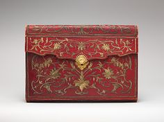Probably by Jacques Lourdière | Briefcase (portefuille) | Turkish and French | The Metropolitan Museum of Art