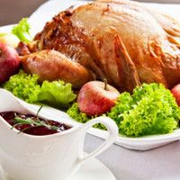 cranberry sauce and turkey Southern Dishes, Southern Recipes, Southern Food, New Recipes, Holiday Recipes, Holiday Foods, African American Food, Cooking Websites, Baker And Cook