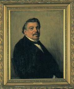Michaël Marres, geschilderd door Henri Goovaerts, 1901
