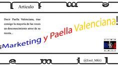 ¡Marketing y Paella Valenciana!