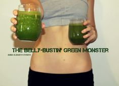 """""""Blender Juice"""" recipe for weight loss and glowing skin #freshmatters #bellybustin #greenmonster #paleo #virgindiet"""