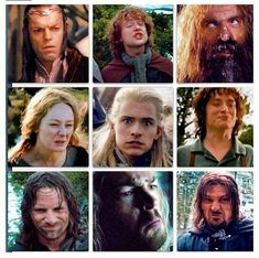 Lord of the rings+ Funny faces=Hilarious!!