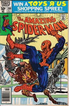 Amazing Spider-Man 1963 1st Series 209 October 1980 by ViewObscura