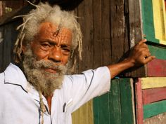 """I met Noah in a Rastafarian village in the Blue Mountains of Jamaica. """"We don't say hello, because hell is below. We say blessed,"""" he told me. I asked him to save me a place in his ark."""