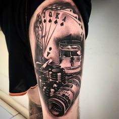 53 Best Poker Tattoos Images Poker Tattoos Tatoos Awesome Tattoos