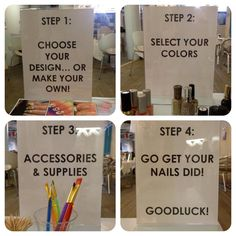 #BCBGeneration rules for the game! Employee nail art contest!