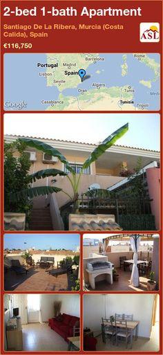 2-bed 1-bath Apartment in Santiago De La Ribera, Murcia (Costa Calida), Spain ►€116,750 #PropertyForSaleInSpain