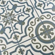Merola Tile Hidraulico Ducados 9-1/2 in. x 9-1/2 in. Porcelain Floor and Wall Tile (10.76 sq. ft. / case) FCD10HDU at The Home Depot - Mobile