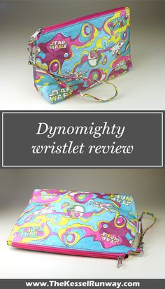 Dynomighty x Star Wars Psychedelic wristlet purse bag review ⭐️ Star Wars fashion ⭐️ Geek Fashion ⭐️ Star Wars Style ⭐️ Geek Chic ⭐️