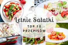 Imprezowa sałatka z serem feta i żurawiną ⋆ M&M COOKING Potato Salad, Feta, Potatoes, Lunch, Cooking, Breakfast, Ethnic Recipes, Foods, Morning Coffee
