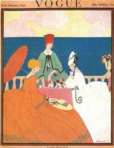 January 1917    by Helen Dryden
