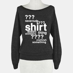 Sherlock Drunk Observations Shirt | HUMAN | T-Shirts, Tanks, Sweatshirts and Hoodies $35.00