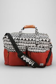 Herschel Supply Co. Walton Chevron Weekender Duffle Bag #urbanoutfitters