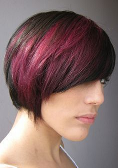 brunette to burgandy - Google Search