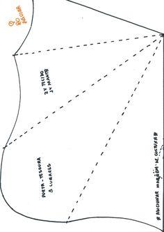 Molde de porta-tesoura
