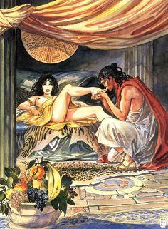 Milo Manara - Aphrodite