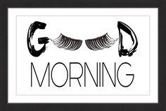 Morning Lashes
