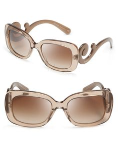 Prada Square Baroque Sunglasses - All Sunglasses - Sunglasses - Jewelry & Accessories - Bloomingdale's