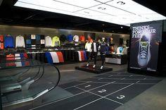 Sports Store   Retail Design   Shop Interior   Sports Display   Nike Town London