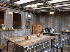 Dirty Burger, London | We Heart unique Café Bar idea restaurant Urban metropol