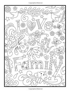 Inspirational Quotes: An Adult Coloring Book with Motivational Sayings and Positive Affirmations for Confidence and Relaxation Love Coloring Pages, Free Adult Coloring Pages, Printable Coloring Pages, Coloring Sheets, Coloring Books, Free Coloring, Mandala Art, Coloring Pages Inspirational, Color Quotes