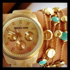Watch and bracelet : )