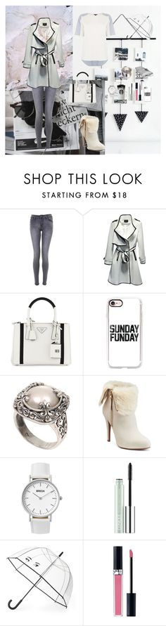 """Autumn Day"" by oksana-kolesnyk ❤ liked on Polyvore featuring Chanel, Prada, Casetify, NOVICA, Jennifer Lopez, Breda, Clinique, Kate Spade, Christian Dior and Warehouse"
