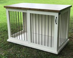 Informations About Dog Crate Furniture, Pet Furniture, Custom Dog House, Wood Dog Crate, Dog Furnitu Custom Dog Kennel, Custom Dog Beds, Dog Kennel Cover, Diy Dog Kennel, Wood Dog Crate, Diy Dog Crate, Dog Crate Furniture, Dream Furniture, Furniture Ads
