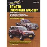 Toyota hilux 2wd 4wd petrol diesel workshop repair manual with toyota landcruiser 7080 100 series diesel from 1990 2007 with mpn ep fandeluxe Gallery