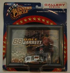 #88 Dale Jarrett 1:64 NASCAR Diecast Car Item#30224 Gallery Series