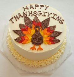Order this Thanksgiving Turkey cake kit and WOW the crowd at dinner this year! We won't tell anyone what your secret is.