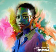 Lupita Nyong'o art