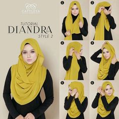 This chiffon hijab style will be your soft comfy and stylish look for this summe. This chiffon hijab style will be your soft comfy and stylish look for this summer days chiffon hija Turban Hijab, Mode Turban, Hijab Dress, Hijab Outfit, Square Hijab Tutorial, Simple Hijab Tutorial, Hijab Style Tutorial, Stylish Hijab, Hijab Chic