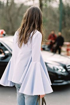 Flared Sleeves | StreetStyle #Streetstyle
