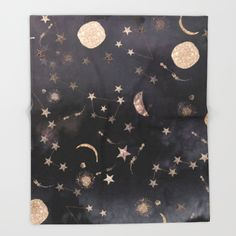 Constellations  Throw Blanket by Nikkistrange. Worldwide shipping available at Society6.com. Just one of millions of high quality products available.