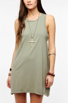 The Furies Manchu Tank Dress #urbanoutfitters