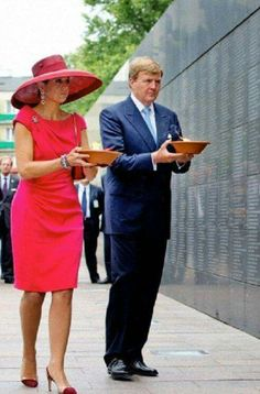 June 24th, 2014: Queen Maxima and King Willem-Alexander of the Netherlands on their state visit to Poland, first day.