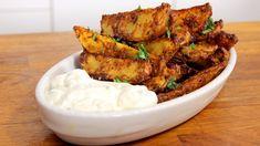 Parmesan-Knoblauch-Kartoffelecken