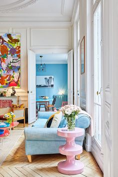 Colorful Paris home of an art director | PUFIK. Beautiful Interiors. Online Magazine