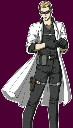Image result for albert wesker fan art