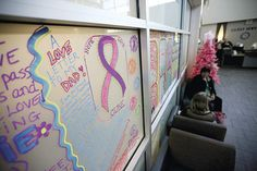 At graffiti stations locations throughout Newton Medical Center, passers-by were afforded an opportunity to artistically express all the things for which they are thankful. Medical Center, Art Therapy, Graffiti Art, Opportunity, Art Projects, Thankful, Healing, Neon Signs, Artist