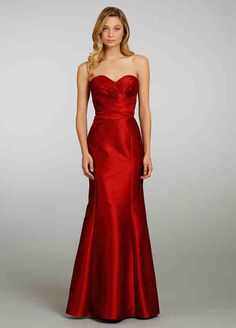 Bridesmaid dress in strawberry though!