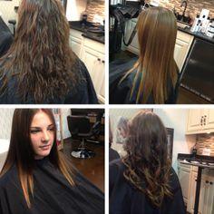 Before/after: Peter Coppola Keratin Concept Long Brunette Hair, Advanced Hair, Keratin Hair, Hair Today, Hair Type, Hair Beauty, Dreadlocks, Stylists, Long Hair Styles