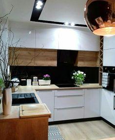 Simple Kitchen Design, Kitchen Room Design, Home Decor Kitchen, Kitchen Furniture, Kitchen Interior, Home Kitchens, Beautiful Kitchens, Home Renovation, Future House