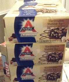 GIFT Ship-ATKINS ADVANTAGE-Atkins Advantage Marshmallow #Atkins #VitaminrichlowCarbChocBAR